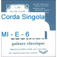 SAVAREZ 536 MI-E-6 CORDA SINGOLA PER CHITARRA CLASSICA