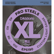 D'ADDARIO EPS190 CORDIERA PER BASSO ELETTRICO 4 CORDE CUSTOM LIGHT 040-100