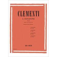 Clementi ER1800 6 Sonatine...