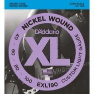 D'ADDARIO EXL190 CORDIERA...