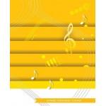 HMGB43 Quaderno di Musica 12 Righi 64 Pagine