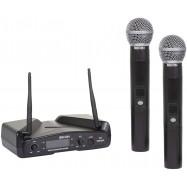 Eikon WM300DM Radiomicrofono Doppio Palmare UHF