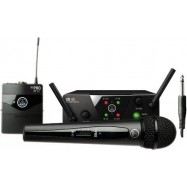 AKG WMS40 Mini Dual Mix Set Radiomicrofono Vocal + Instrument
