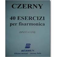 Berben CZERNY 40 Esercizi...