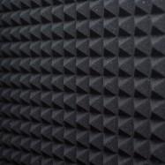 Pannello Fonoassorbente Piramidale 6 cm D25 100 X 100 GRIGIO ANTRACIDE